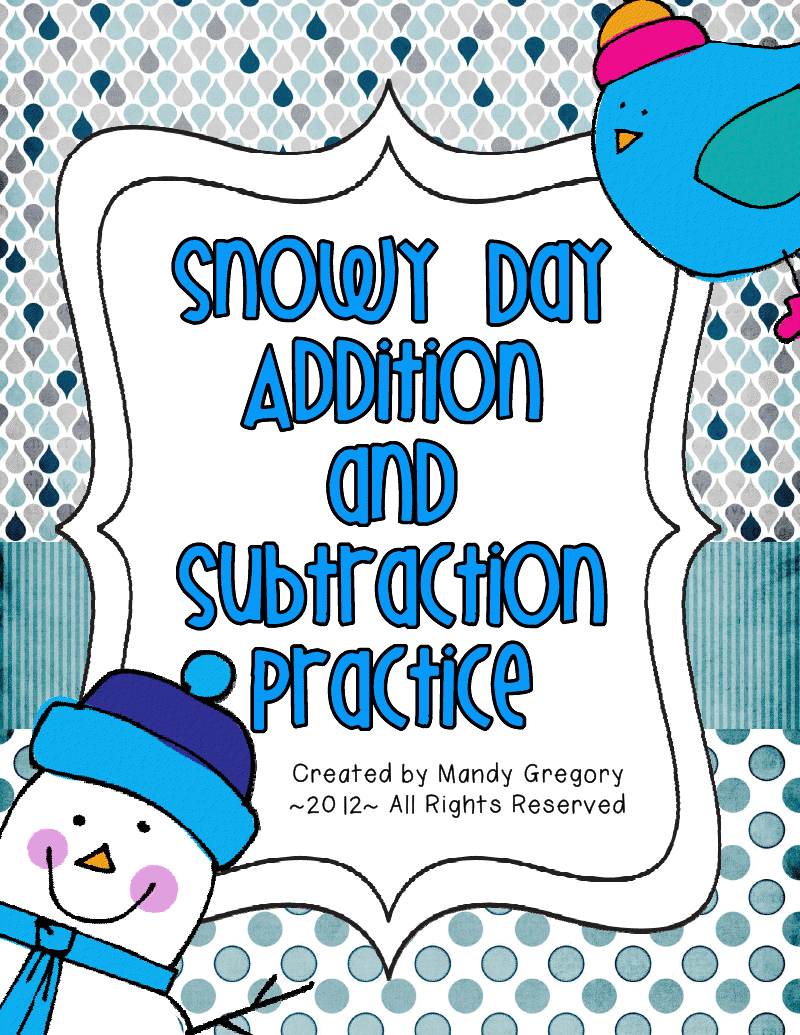 Addition and Subtraction without Regrouping Freebie - Mandy\'s Tips ...