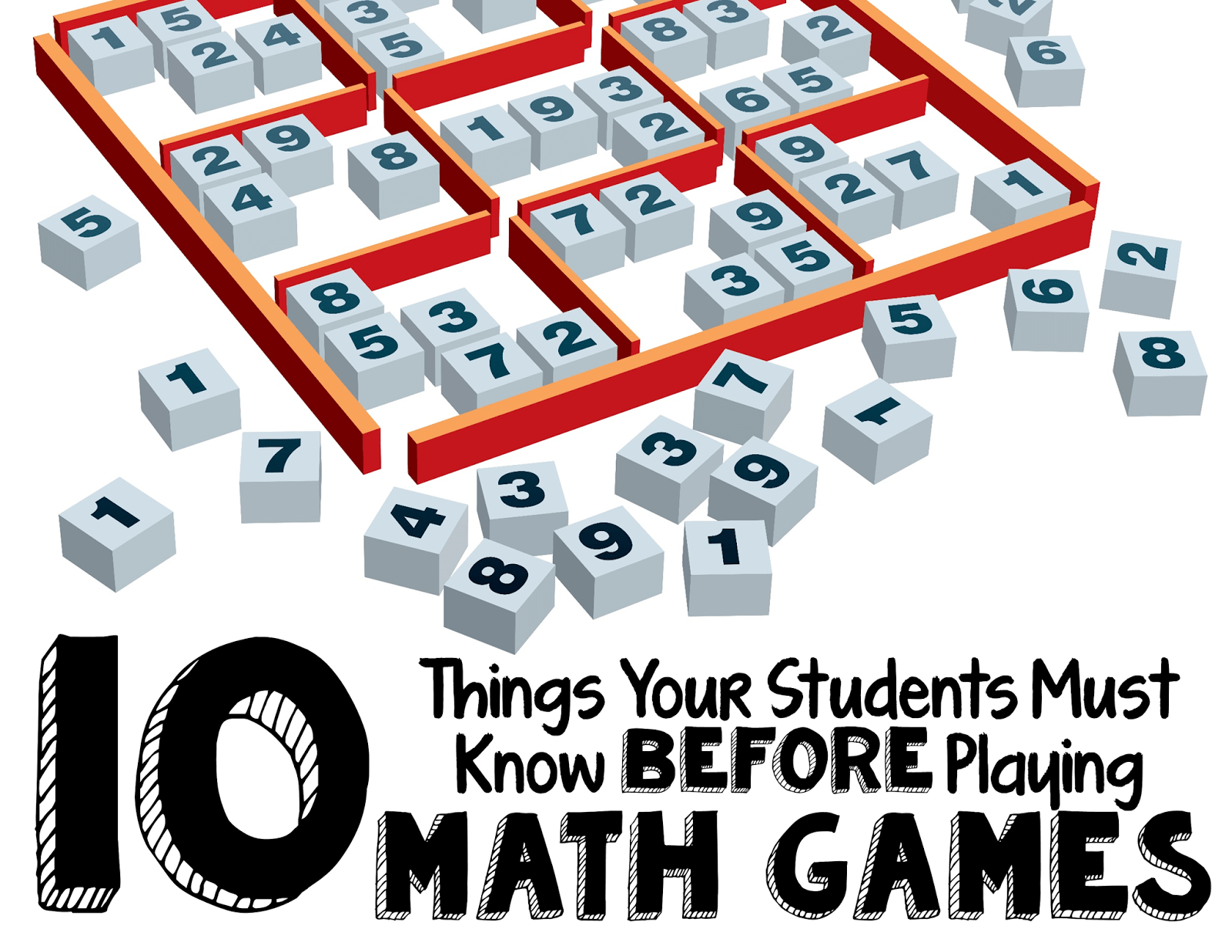 10 Things Your Students MUST Know Before Playing Math Games ...
