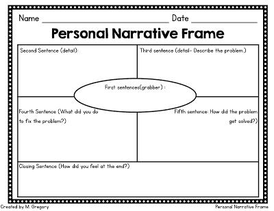 Beginning Narrative Writing - Mandy\'s Tips for Teachers