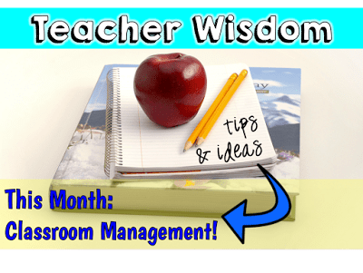 Classroom Management:  A Linky!