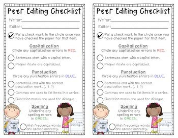 Make Editing and Revising Easier in 2nd Grade!