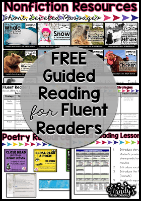 Nonfiction Resources: Free Guided Reading for Fluent Readers