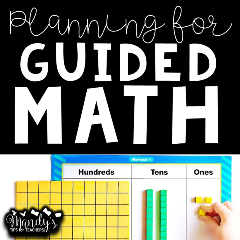 getting organized with math (place value)