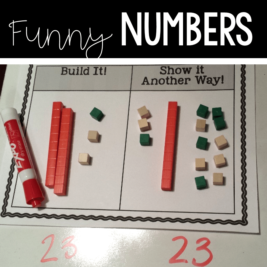 Funny numbers in place value