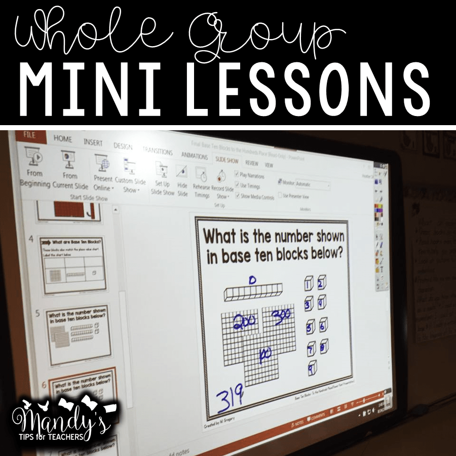 Interactive Mini Lessons for Place Value