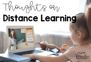 Thoughts on Distance Learning