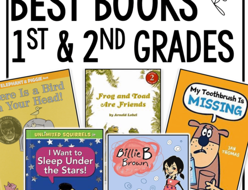 BEST Books for First and Second Grade!